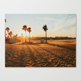 Malvarosa Beach Canvas Print