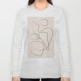 Abstract Line I Long Sleeve T-shirt