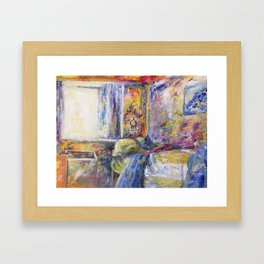 Morning wake Framed Art Print
