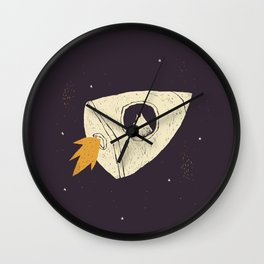 laika(purple) Wall Clock