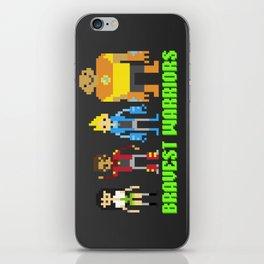 Bravest warriors!  iPhone Skin