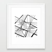 kaleidoscope Framed Art Prints featuring Kaleidoscope  by Chris Klemens