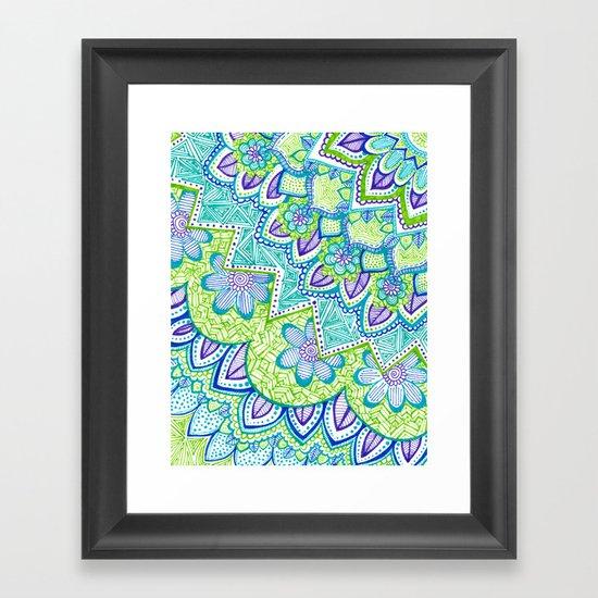 Sharpie Doodle 2 Framed Art Print