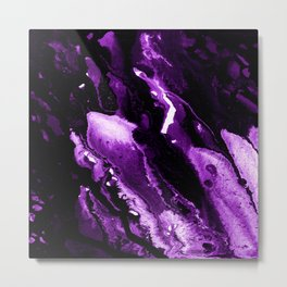 Purple Abstract dd1710004P Metal Print