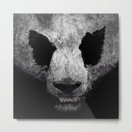 Pandor, God of pandas Metal Print