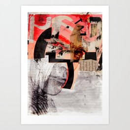 HOMBRE SECRETO Art Print