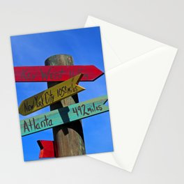 Key West 165 Miles Stationery Cards