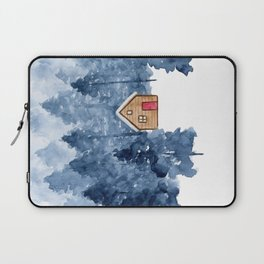 Snowy Forest Laptop Sleeve