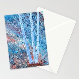 The Majesty of Birch Trees Stationery Cards