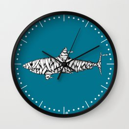 Shark-Mummy Wall Clock