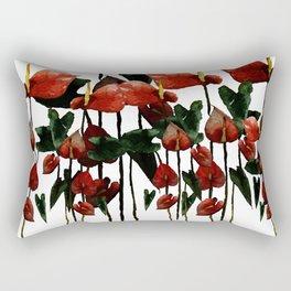 Flamingo go go! Rectangular Pillow