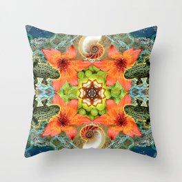 Alchemical Communion Throw Pillow
