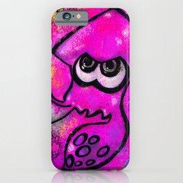 I've Got an Inkling - Pink on Black iPhone Case