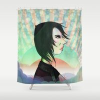 circus Shower Curtains featuring Circus by IOSQ