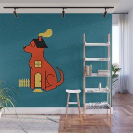 DogHouse Wall Mural