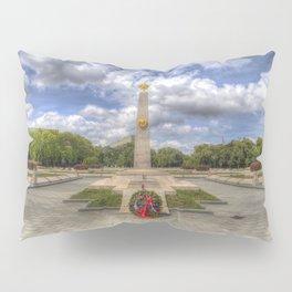 Russian War Memorial Budapest Pillow Sham