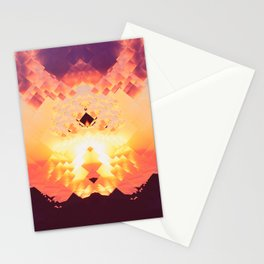 Pixelisation Stationery Cards