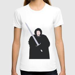 Jon, Game, Snow, Thrones, Dragons T-shirt