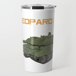 German Tank Leopard 2 Travel Mug
