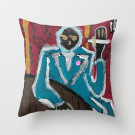 """Some Classy Guy"" Throw Pillow"