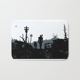 The Lone Wanderer Bath Mat