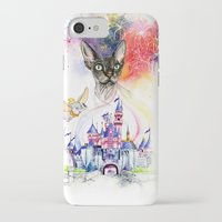 simba iPhone & iPod Cases featuring Simba the princess sphynx by Psyca