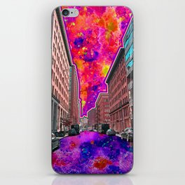 Downtown NYC iPhone Skin
