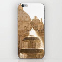 Bernini's Fountain iPhone Skin