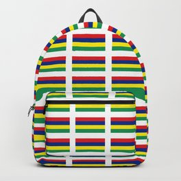 Flag of Mauritius – maurice,mauricien,port-louis,mauritian,rodrigues,creole,dodo,indian ocean Backpack