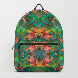 Floral Fractal Art G23 Backpack