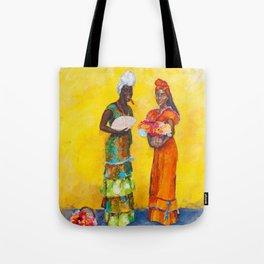 Flower Ladies Tote Bag