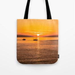 Finish of the day Tote Bag