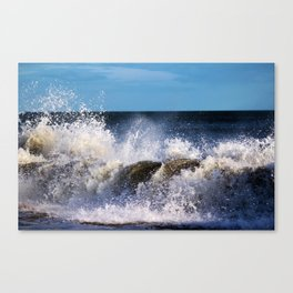 Monster Waves Canvas Print