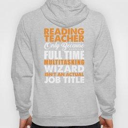 Reading Teacher Wizard Hoody