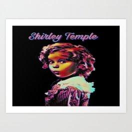 Legend Of Shirley Art Print