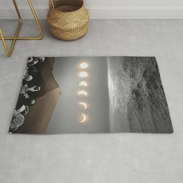 night time spectacle Rug
