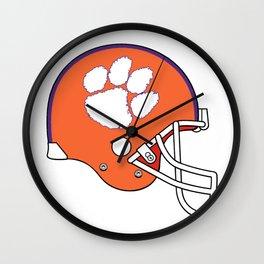 Go Tigers Football! Wall Clock
