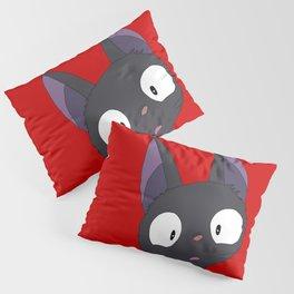 Jiji- red&white Pillow Sham