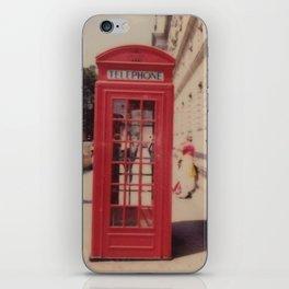 London Telephone Booth iPhone Skin