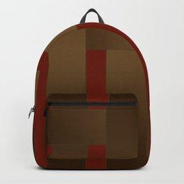 Weave Brown satin ribbons Backpack