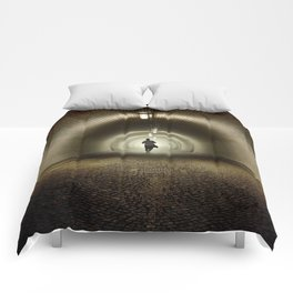 Endless Tunnel Comforters
