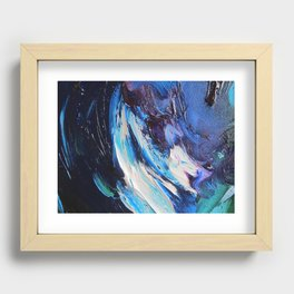 Royal Ice Recessed Framed Print