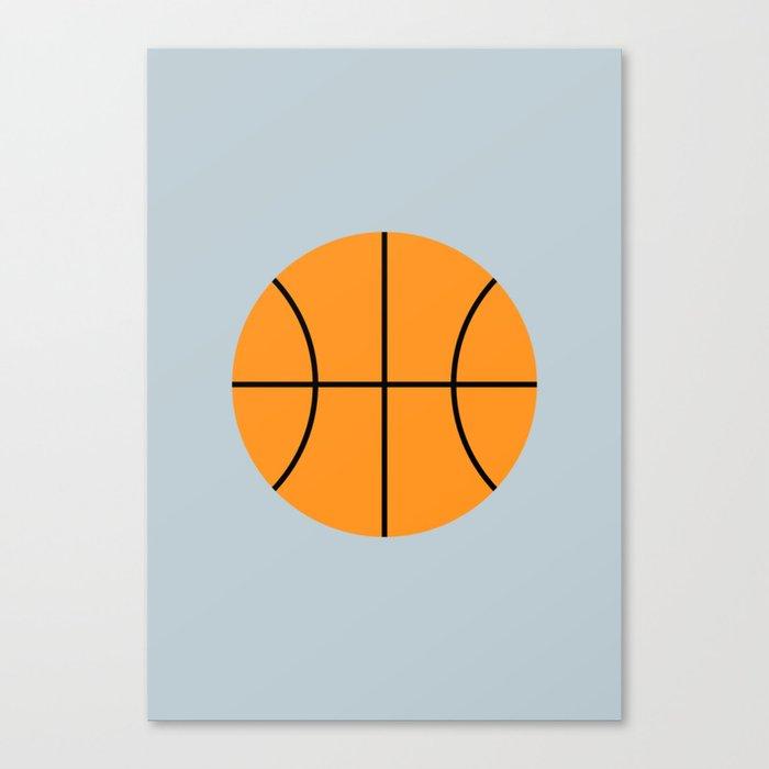 #9 Basketball Leinwanddruck