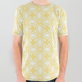 HELLO YELLOW - ANISSA DIAMOND by MS All Over Graphic Tee