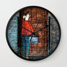 Street Art in Chicago Wall Clock