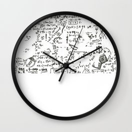 Be Greater Than Average Funny Math Wall Clock