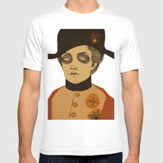 An Officer and a Lady White MEDIUM Mens Fitted Tee