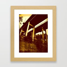 Bridge 65 Framed Art Print