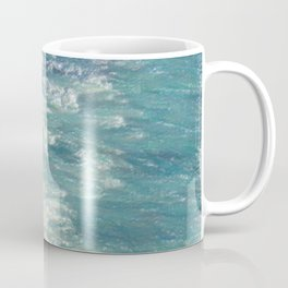 Sea Painting Maravellous Effect with brushes Coffee Mug