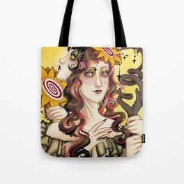 Queen of Wands Tote Bag